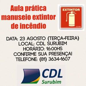 EXTINTOR - CURSO - CDL SURUBIM