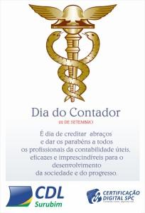 DIA DO CONTADOR - HOMENAGEM CDL SURUBIM