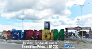EMANCIPACAO POLITICA 2017- homenagem cdl surubim