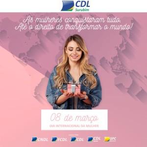 DIA DA MULHER - CDL SURUBIM