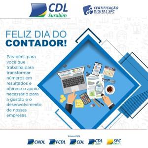 dia do contador - certificado digital - CDL SURUBIM
