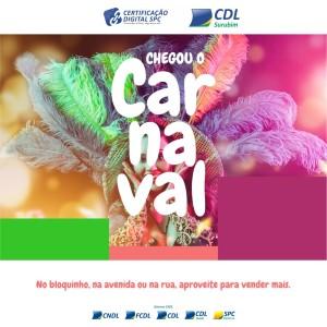 CARTAO - CARNAVAL 2020 CDL SURUBIM