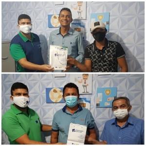 Presidente da Câmara de Vereadores e Prefeito de Santa Maria do Cambucá emitem Certificado Digital na CDL Surubim