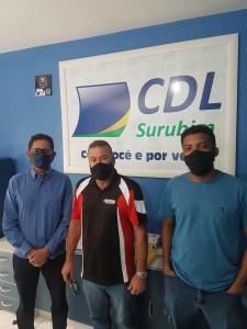 CDL recebe equipe de engenharia da Secretaria Estadual de Qualificação e Emprego de PE
