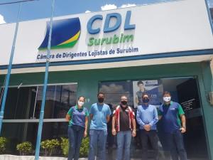 CDL recebe equipe de engenharia da Secretaria Estadual de Qualificação e Emprego de Pernambuco